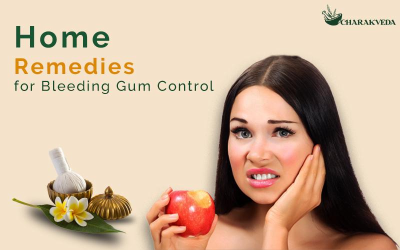 Home Remedies For Bleeding Gum Control