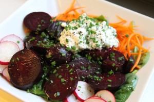Carrot, Beetroot and Cottage Cheese Salad Recipe