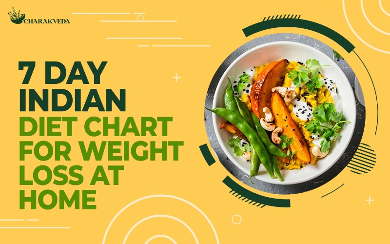 7 Day Indian Diet Chart For weight loss