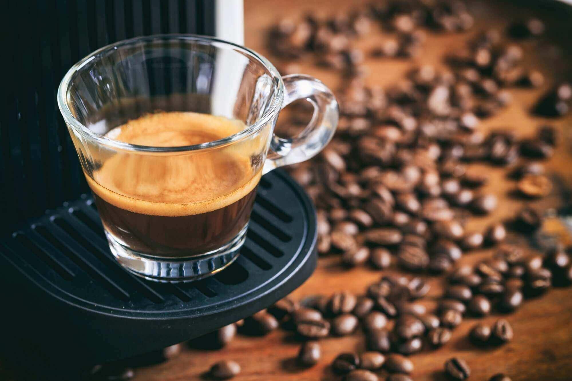 Amount of caffeine in Espresso coffee