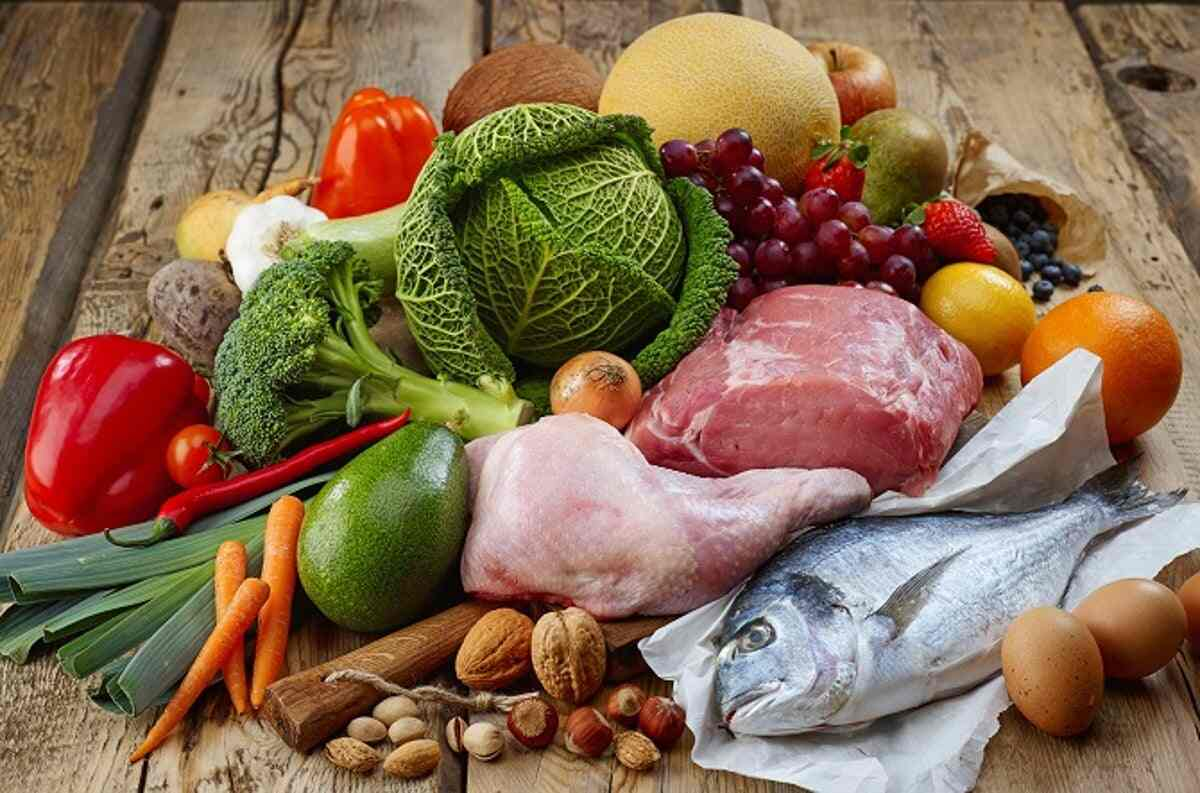 Foods to eat in paleo diet: